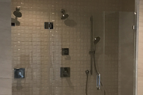 Dual Standup Shower